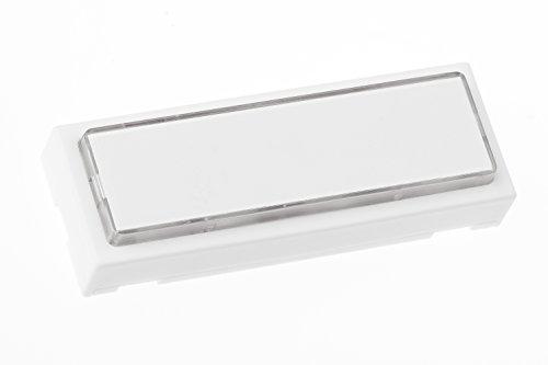 huber 12131 klingelplatte polystyrol 1 fach ap beleuchtet t rklingel klingel ebay. Black Bedroom Furniture Sets. Home Design Ideas